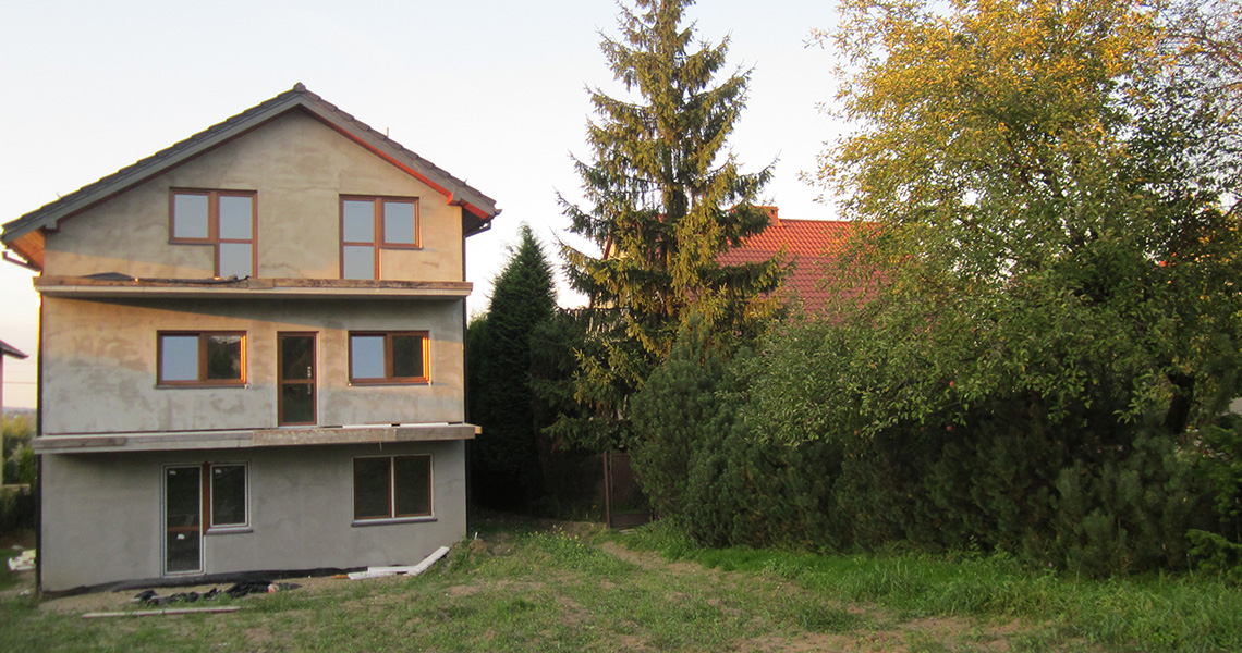 Dom dwupokoleniowy