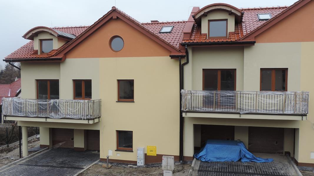 Nowe domy w Krakowie ul. Pustynna