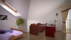 Pokój dzienny mieszkanie 10