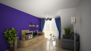 Pokój dzienny mieszkanie 12