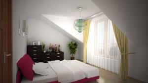 Sypialnia duża mieszkanie 12