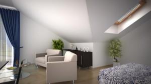 Pokój dzienny mieszkanie 11