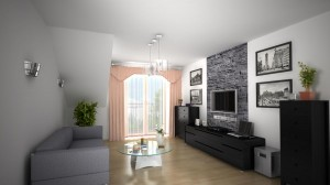 Pokój dzienny mieszkanie 9