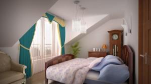 Sypialnia duża mieszkanie 9